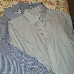 Bundle of Charles Tyrwhitt dress shirts XL